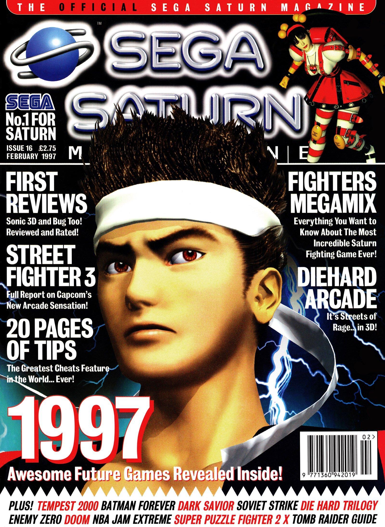 Official Sega Saturn Magazine 16 (February 1997)