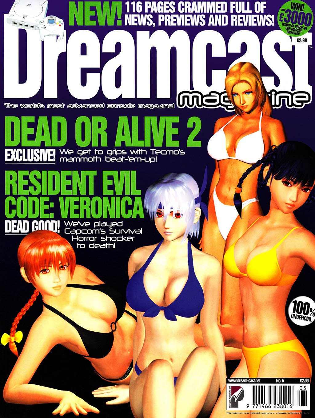 Dreamcast Magazine 05 (January 2000)