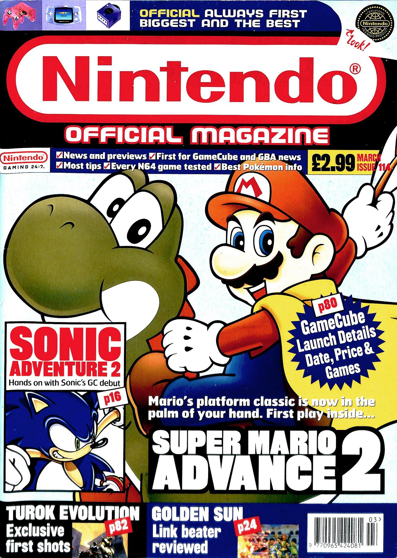 Nintendo Official Magazine 114 (March 2002)