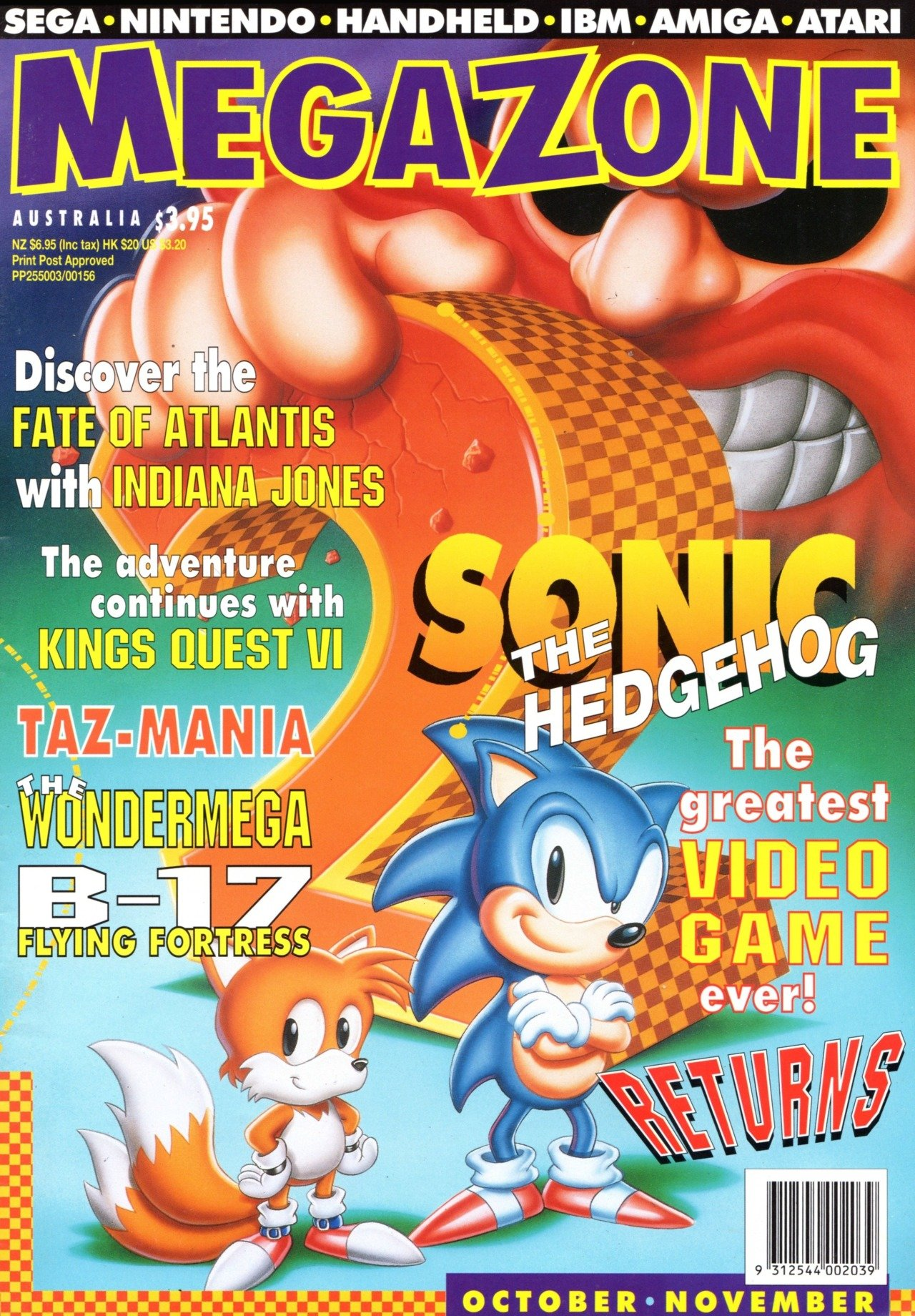 MegaZone 24 (October / November 1992)