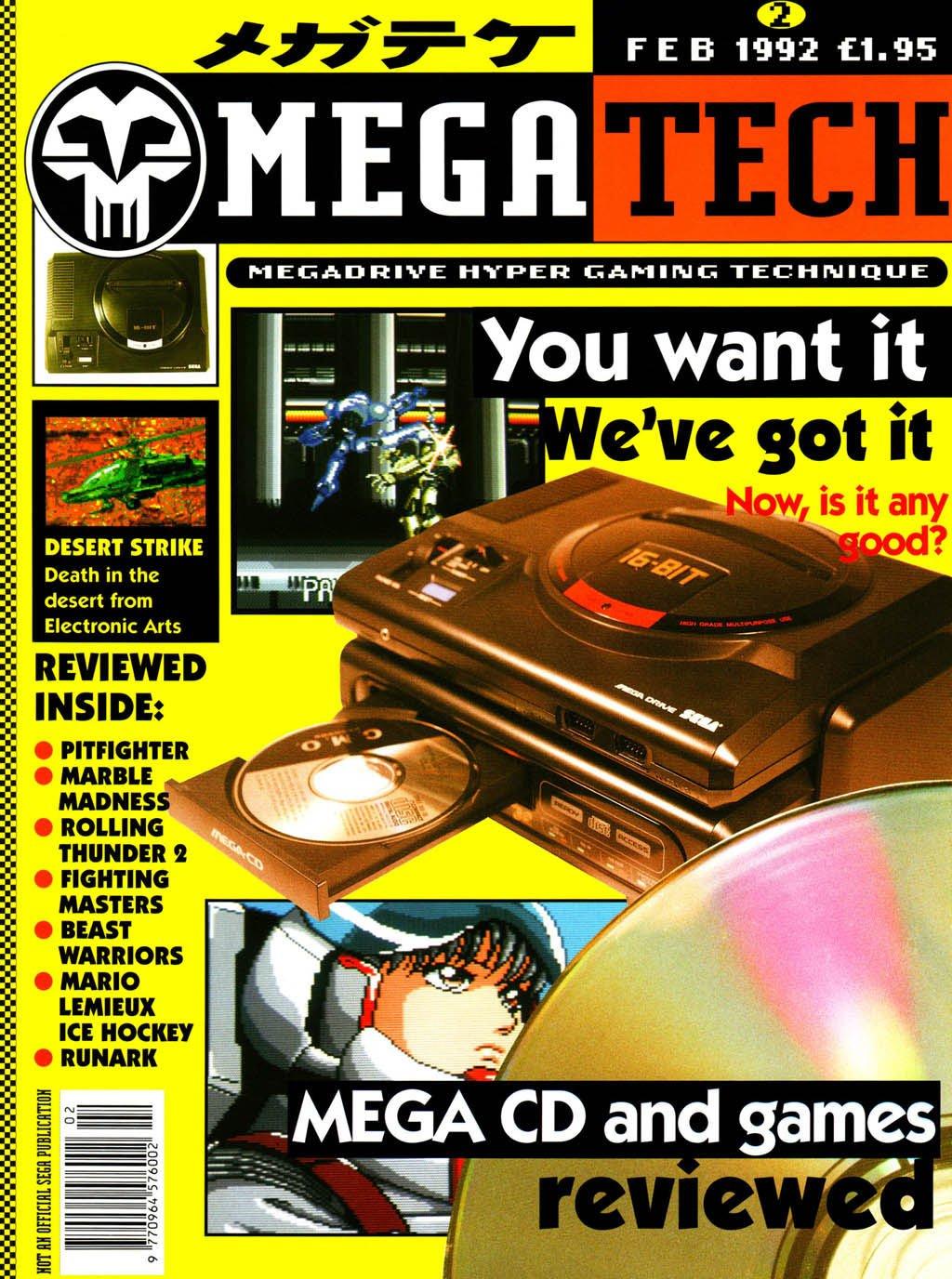 MegaTech 02 (February 1992)