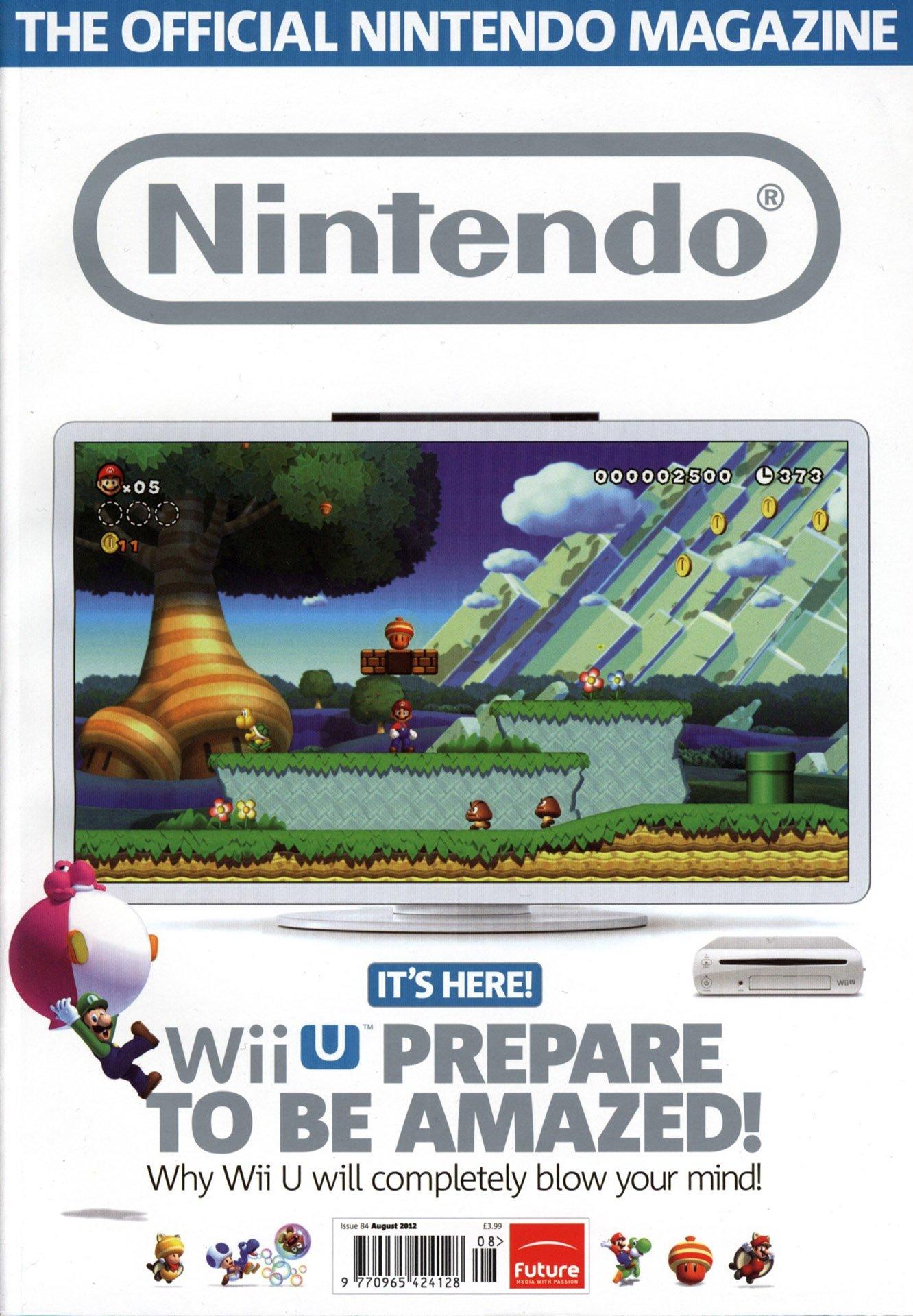 Official Nintendo Magazine 084 (August 2012)