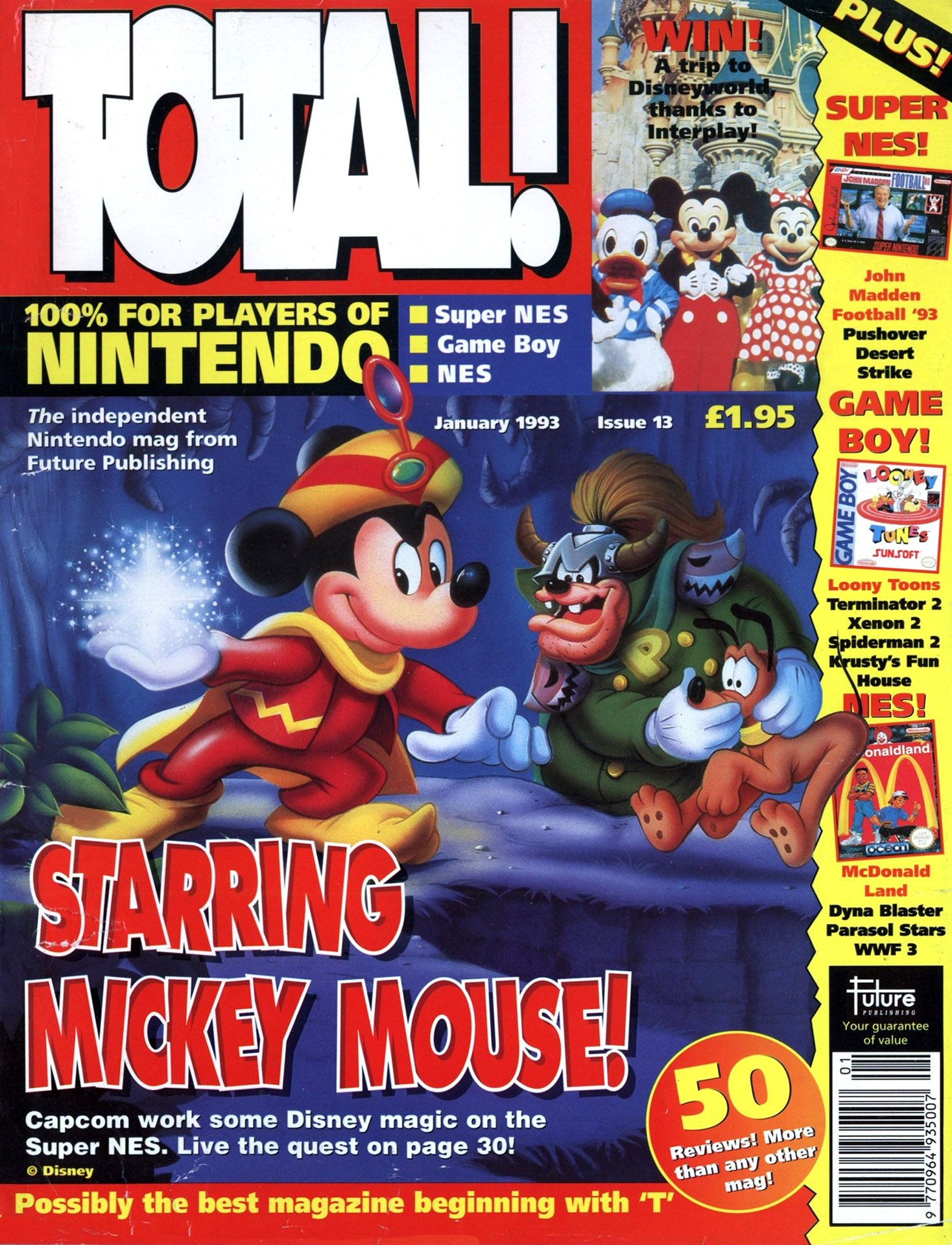 Total! Issue 13 (January 1993)