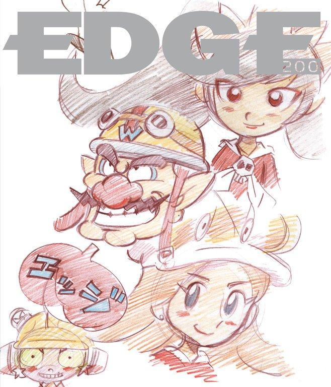 Edge 200 (April 2009) (cover 119 - Wario Ware Inc)