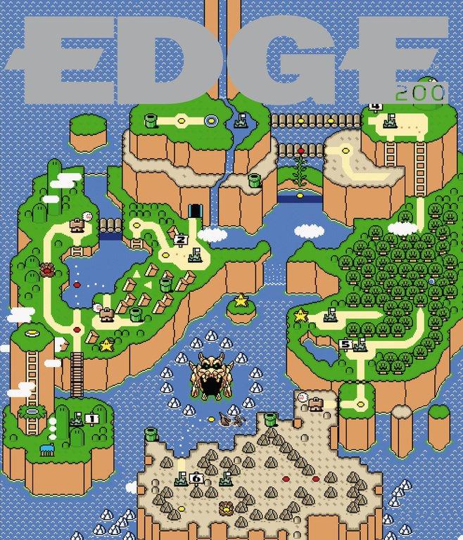 Edge 200 (April 2009) (cover 129 - Super Mario World)