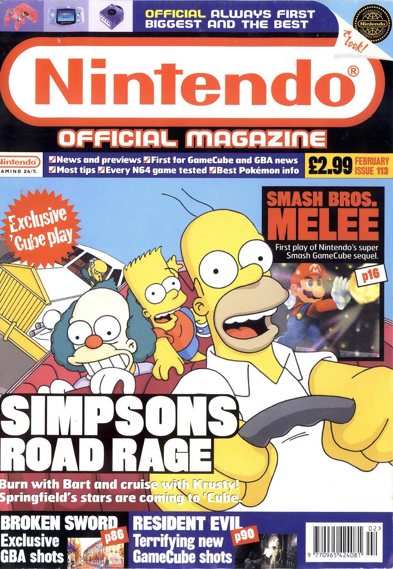 Nintendo Official Magazine 113 (February 2002)