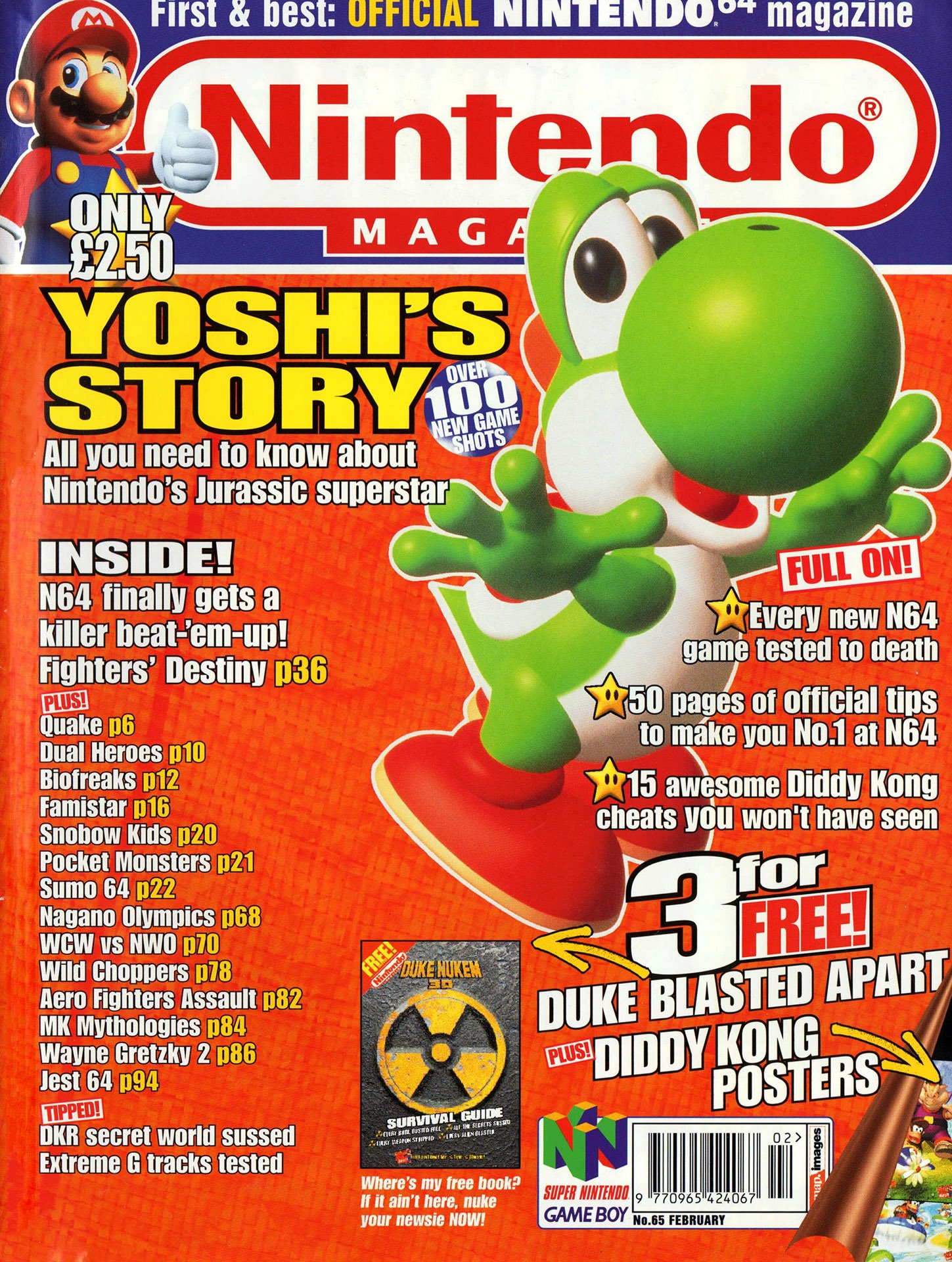 Nintendo Official Magazine 065 (February 1998)