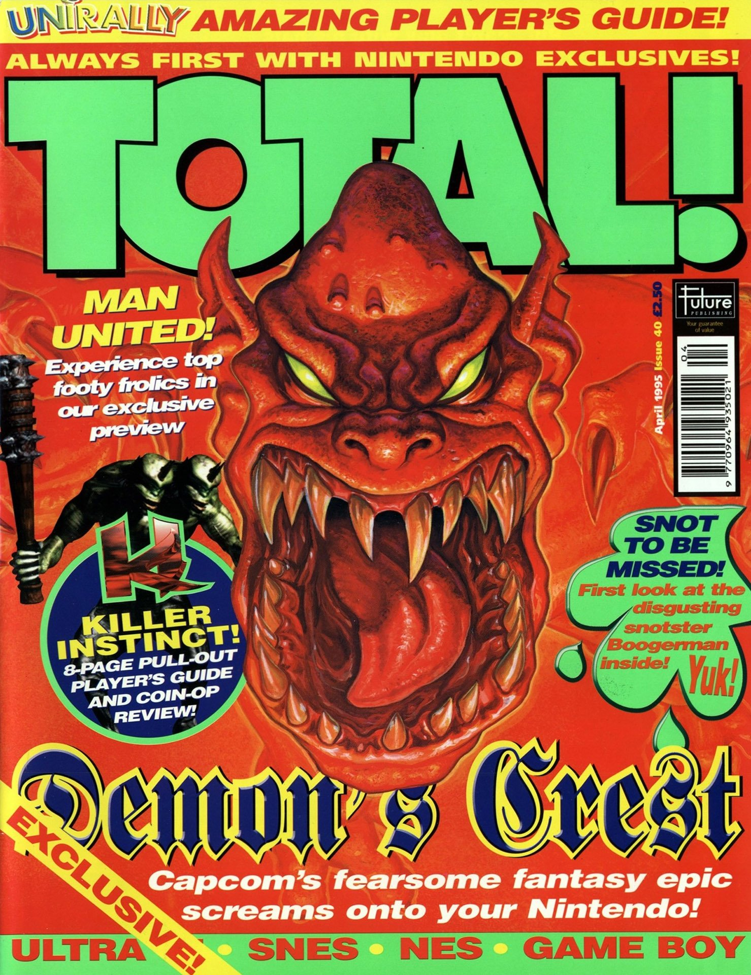 Total! Issue 40 (April 1995)