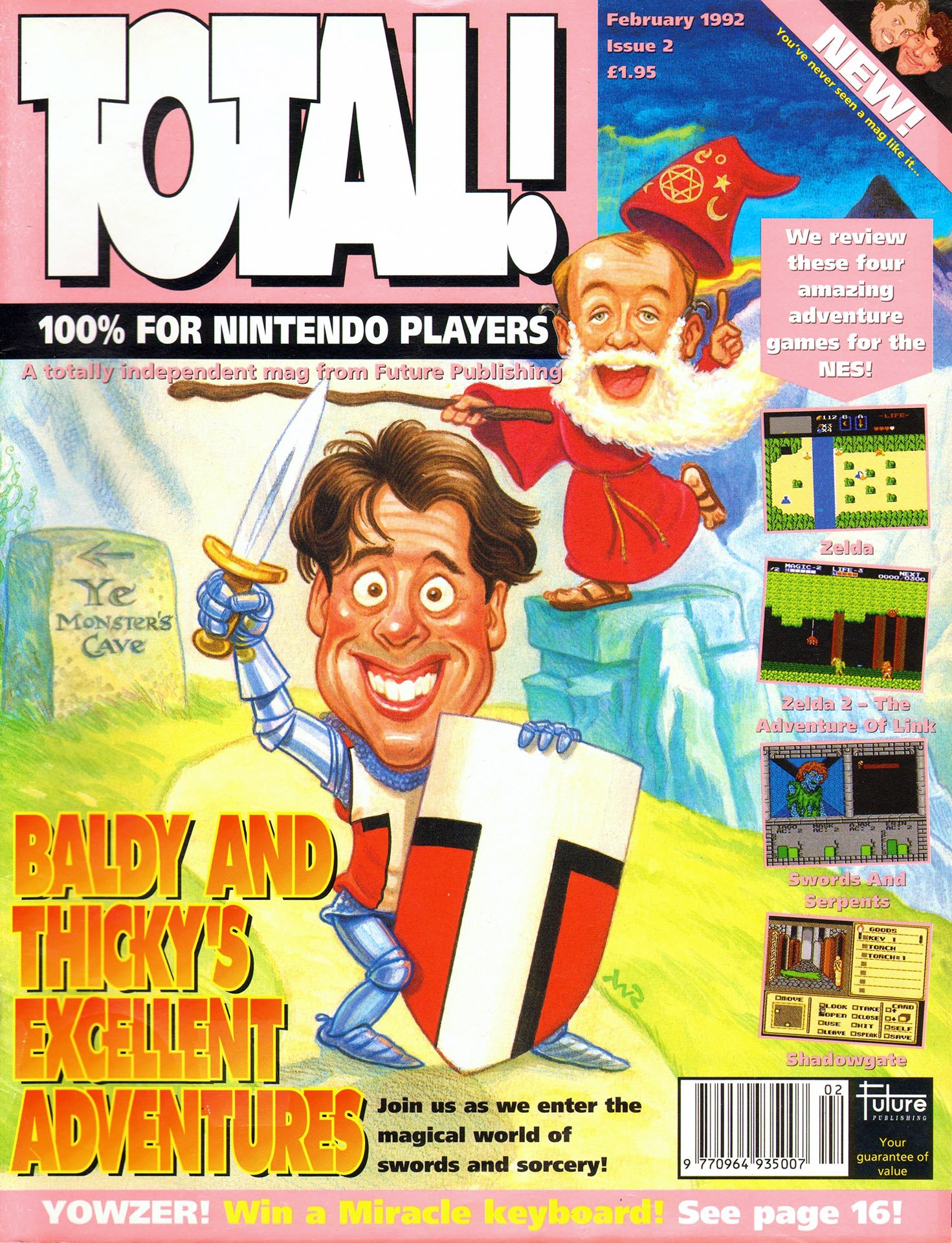 Total! Issue 02 (February 1992)