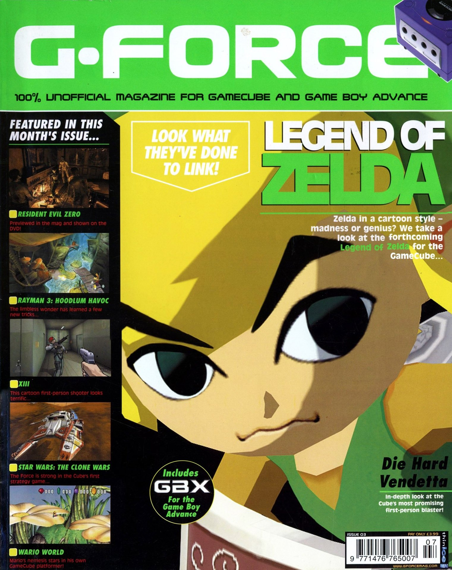G-Force Issue 03 (July 2002)