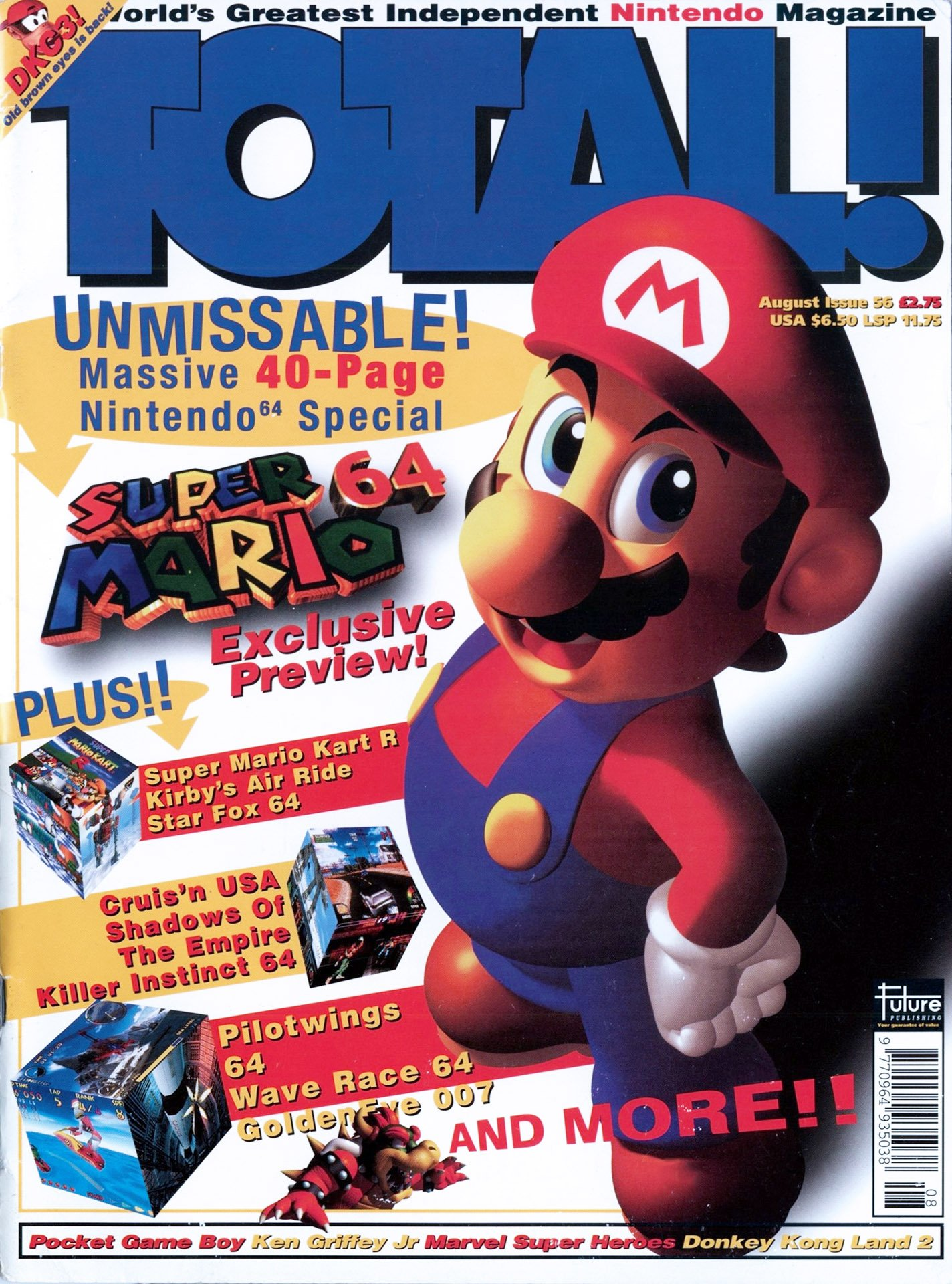 Total! Issue 56 (August 1996)