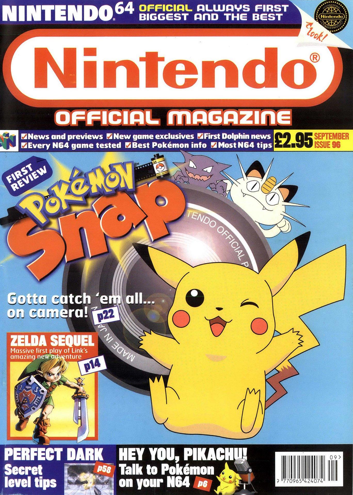 Nintendo Official Magazine 096 (September 2000)