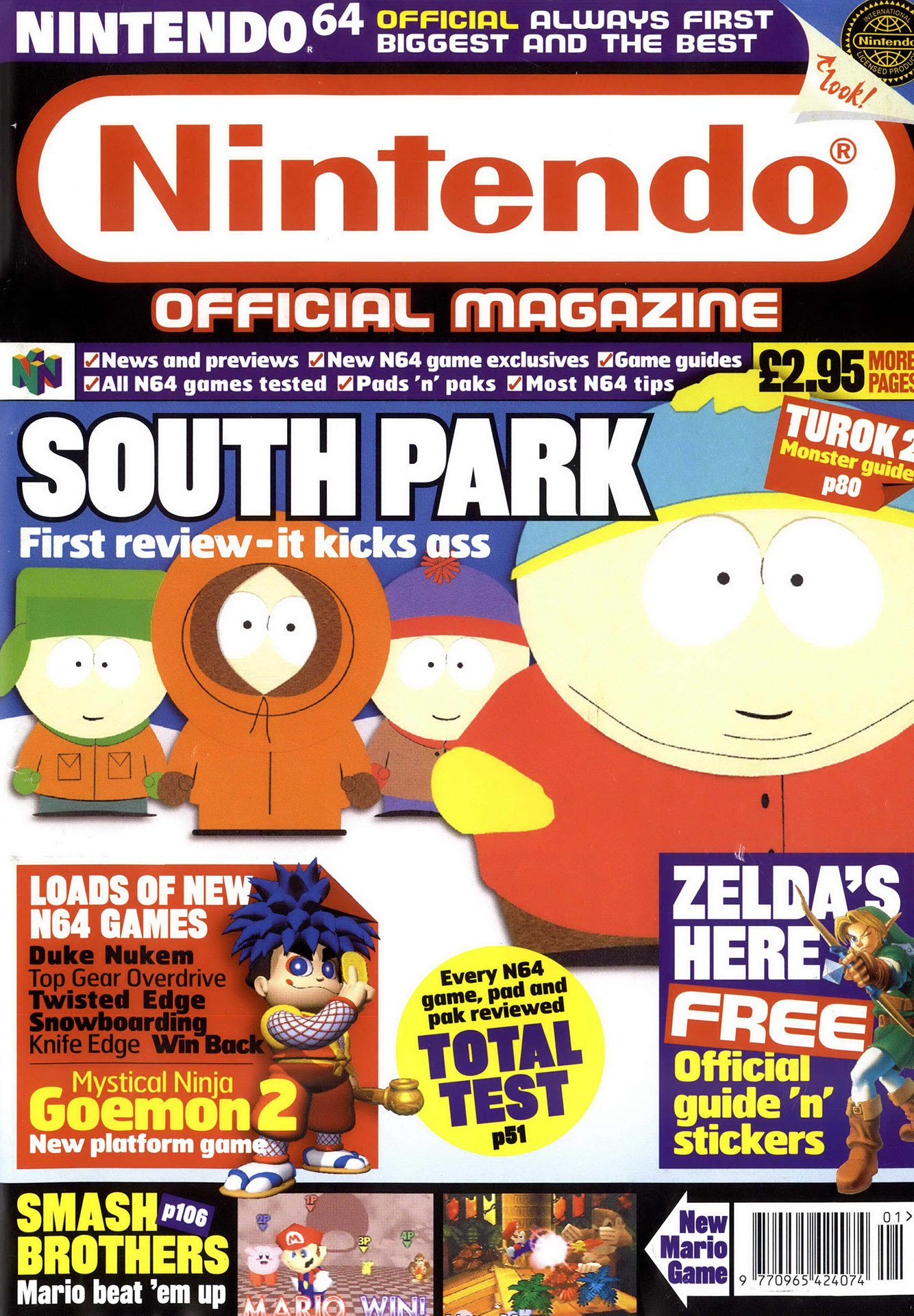 Nintendo Official Magazine 076 (January 1999)