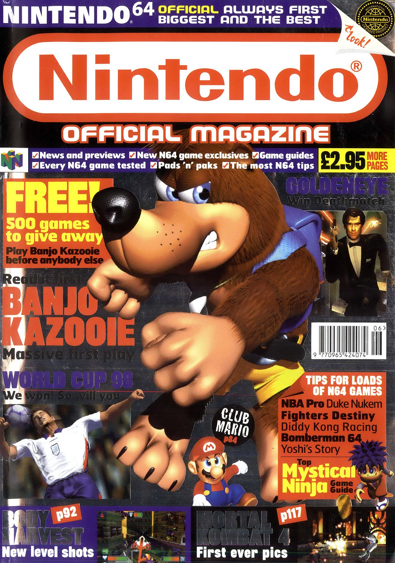 Nintendo Official Magazine 069 (June 1998)