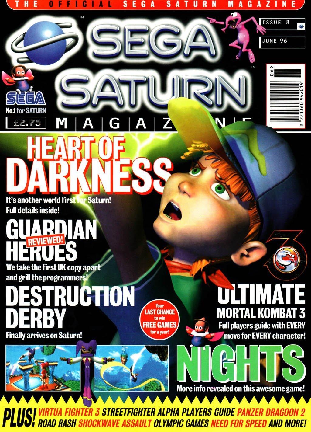 Official Sega Saturn Magazine 08 (June 1996)