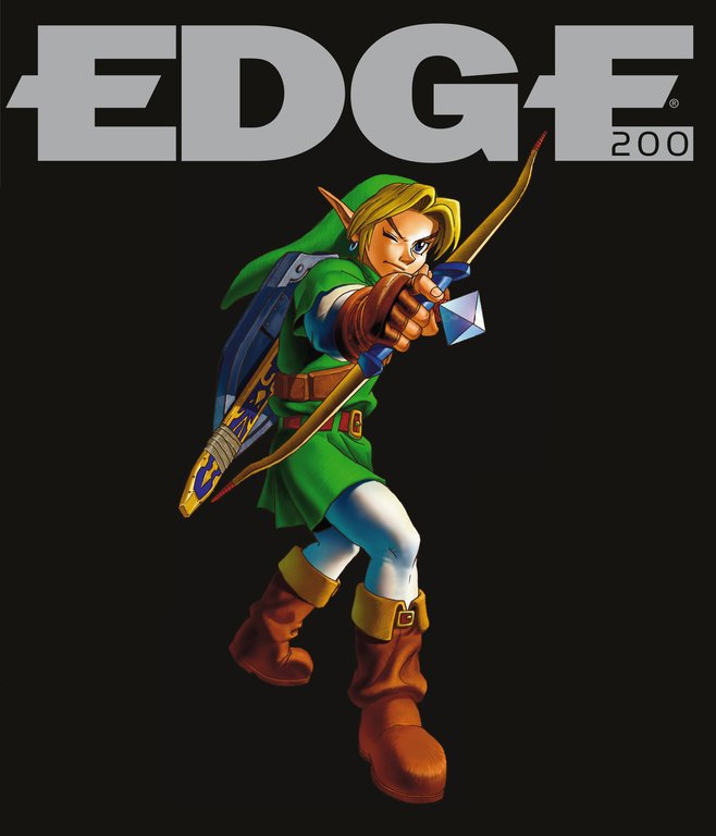 Edge 200 (April 2009) (cover 196 - Link - Zelda - Ocarina Of Time)