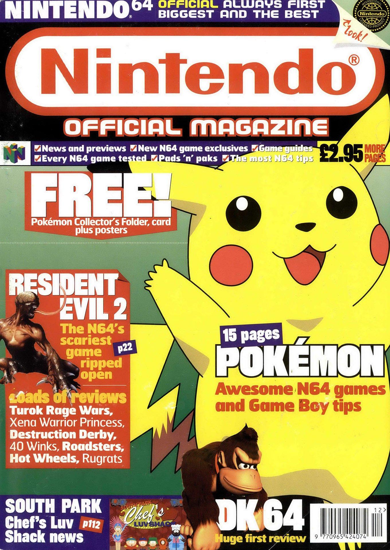 Nintendo Official Magazine 087 (December 1999)