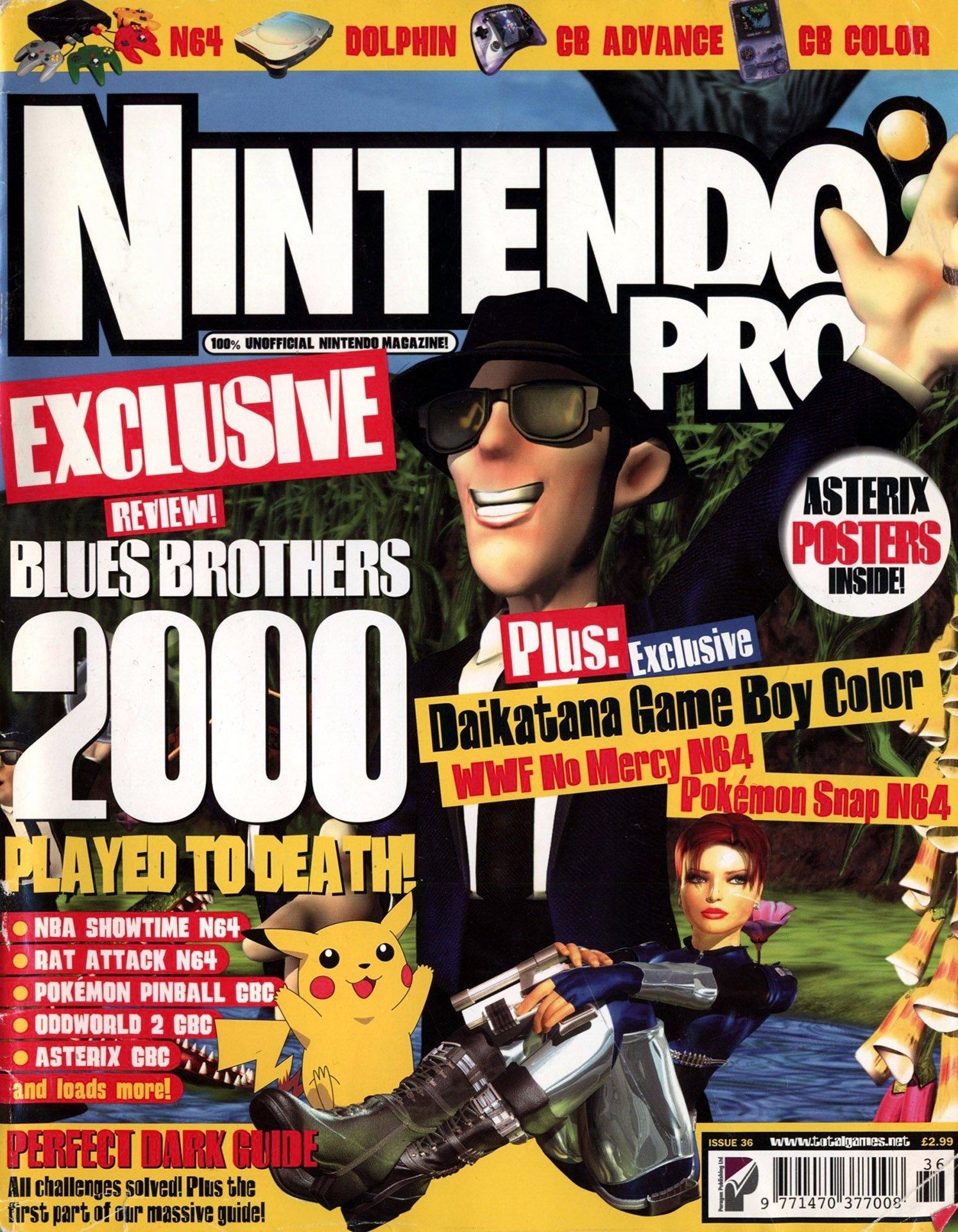Nintendo Pro Issue 36 (July 2000)