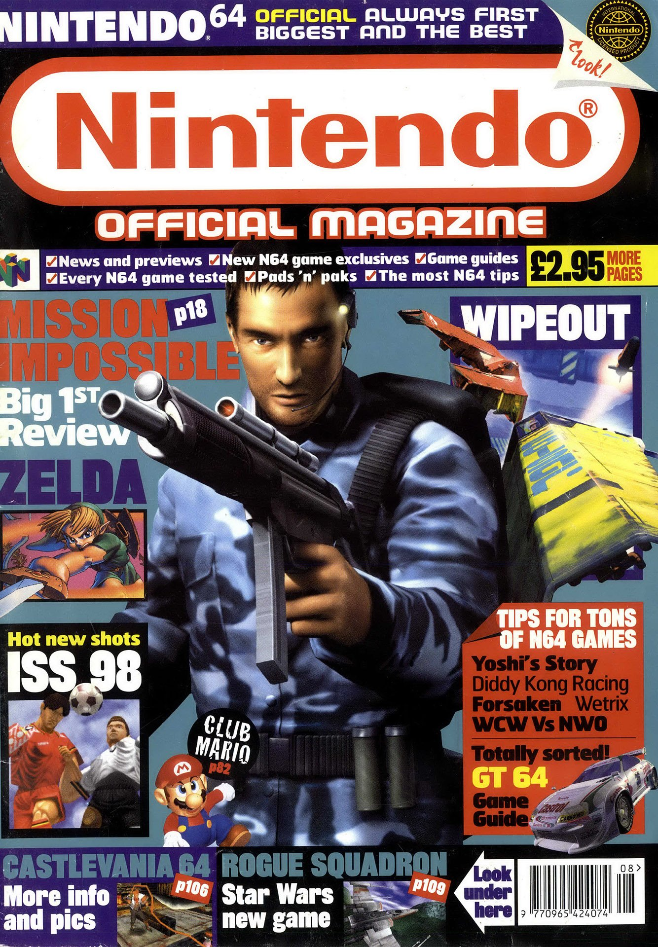 Nintendo Official Magazine 071 (August 1998)