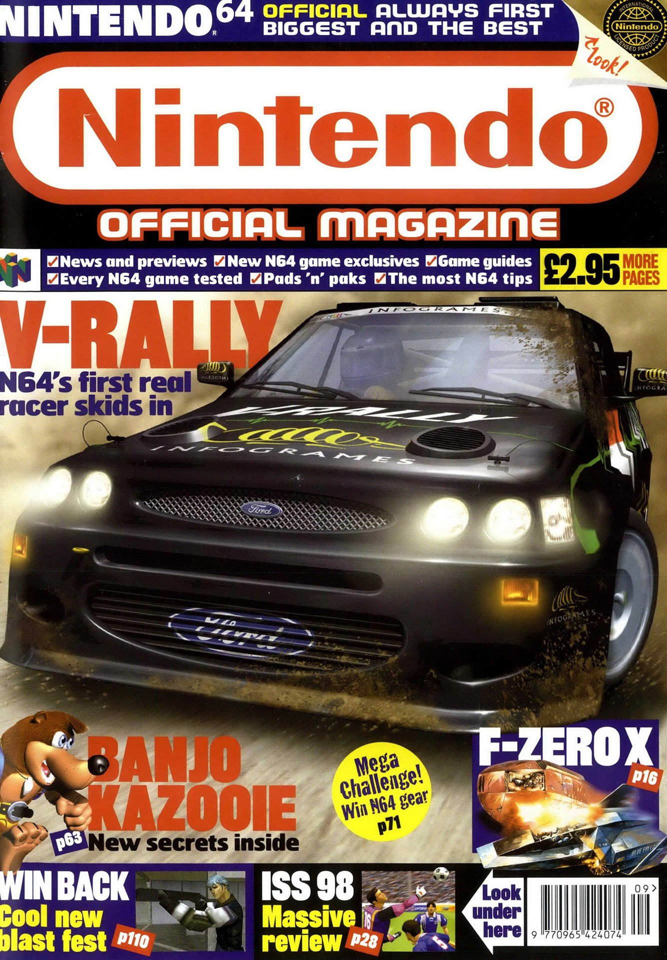 Nintendo Official Magazine 072 (September 1998)