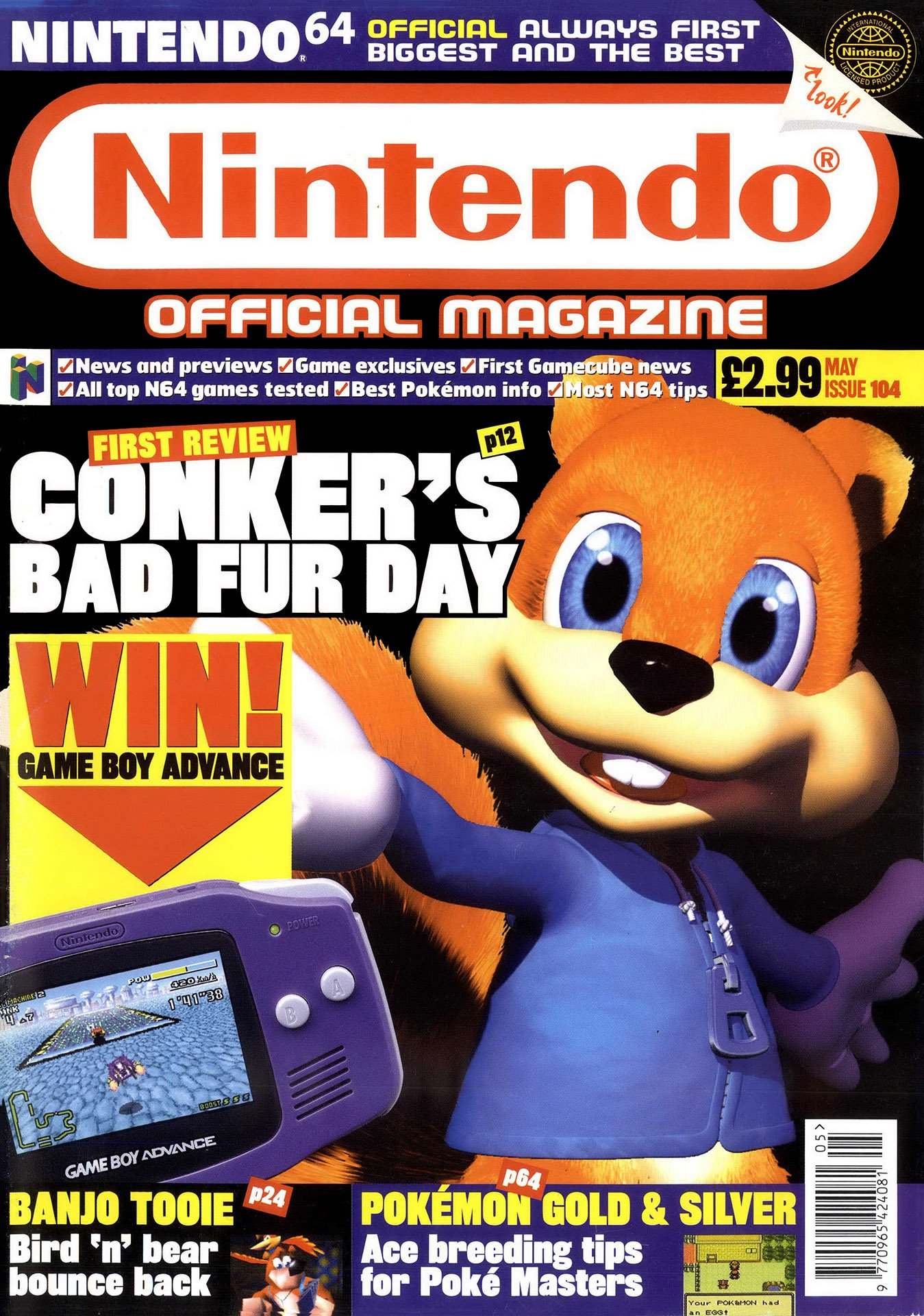 Nintendo Official Magazine 104 (May 2001)