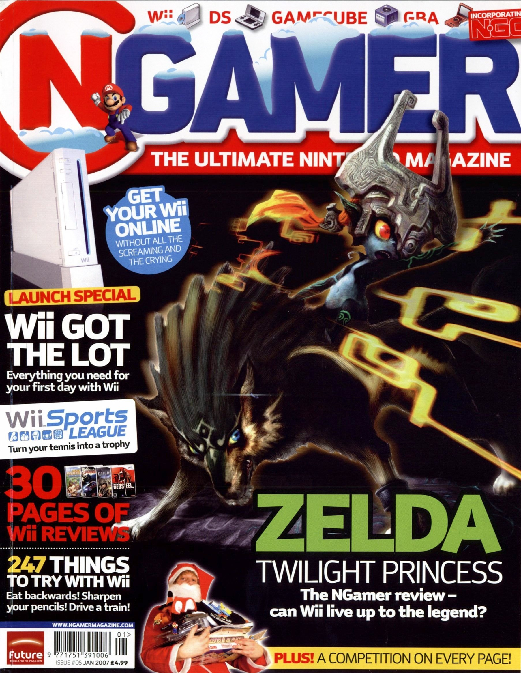 NGamer Issue 05 (January 2007)