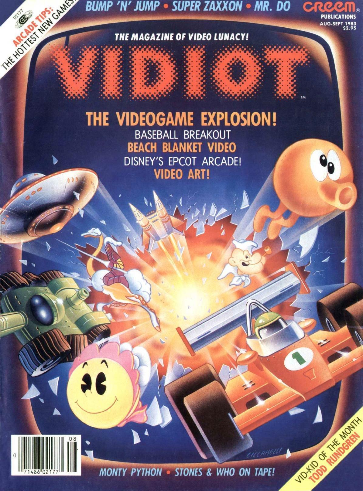 Vidiot Issue 5 (August / September 1983)