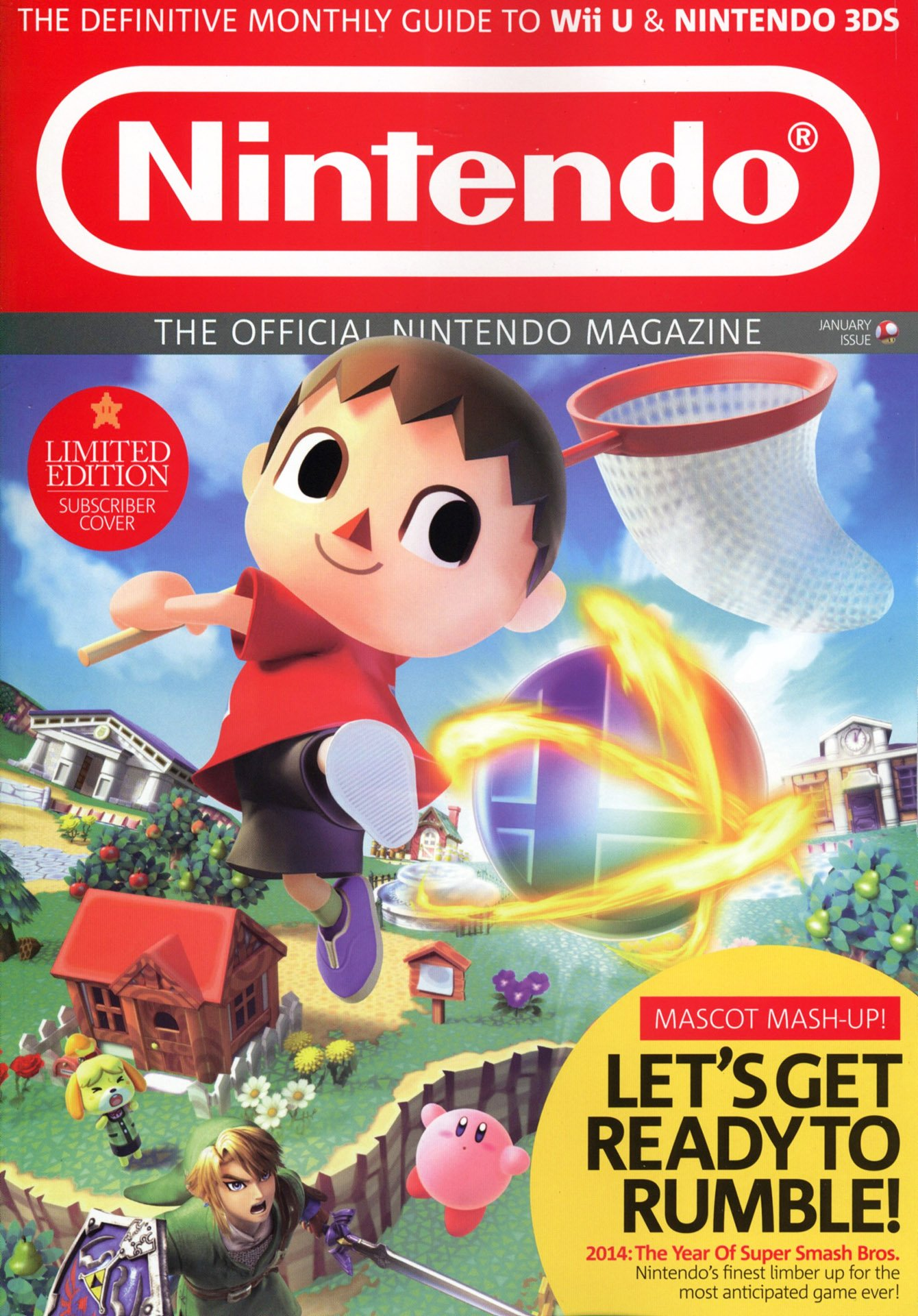Official Nintendo Magazine 103 (January 2014) (subscriber cover)