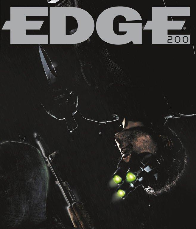 Edge 200 (April 2009) (cover 041 - Sam Fisher - Splinter Cell series)