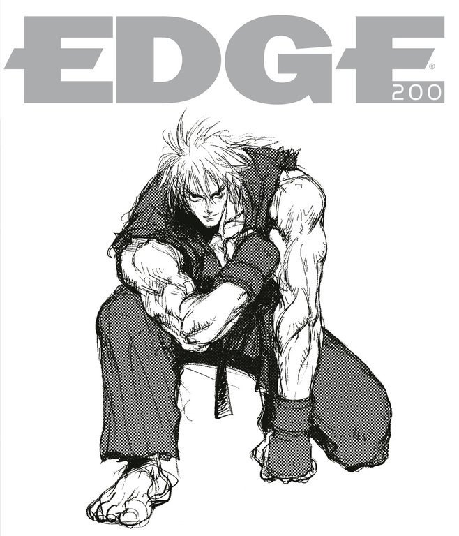 Edge 200 (April 2009) (cover 010 - Ken Masters - Street Fighter series)