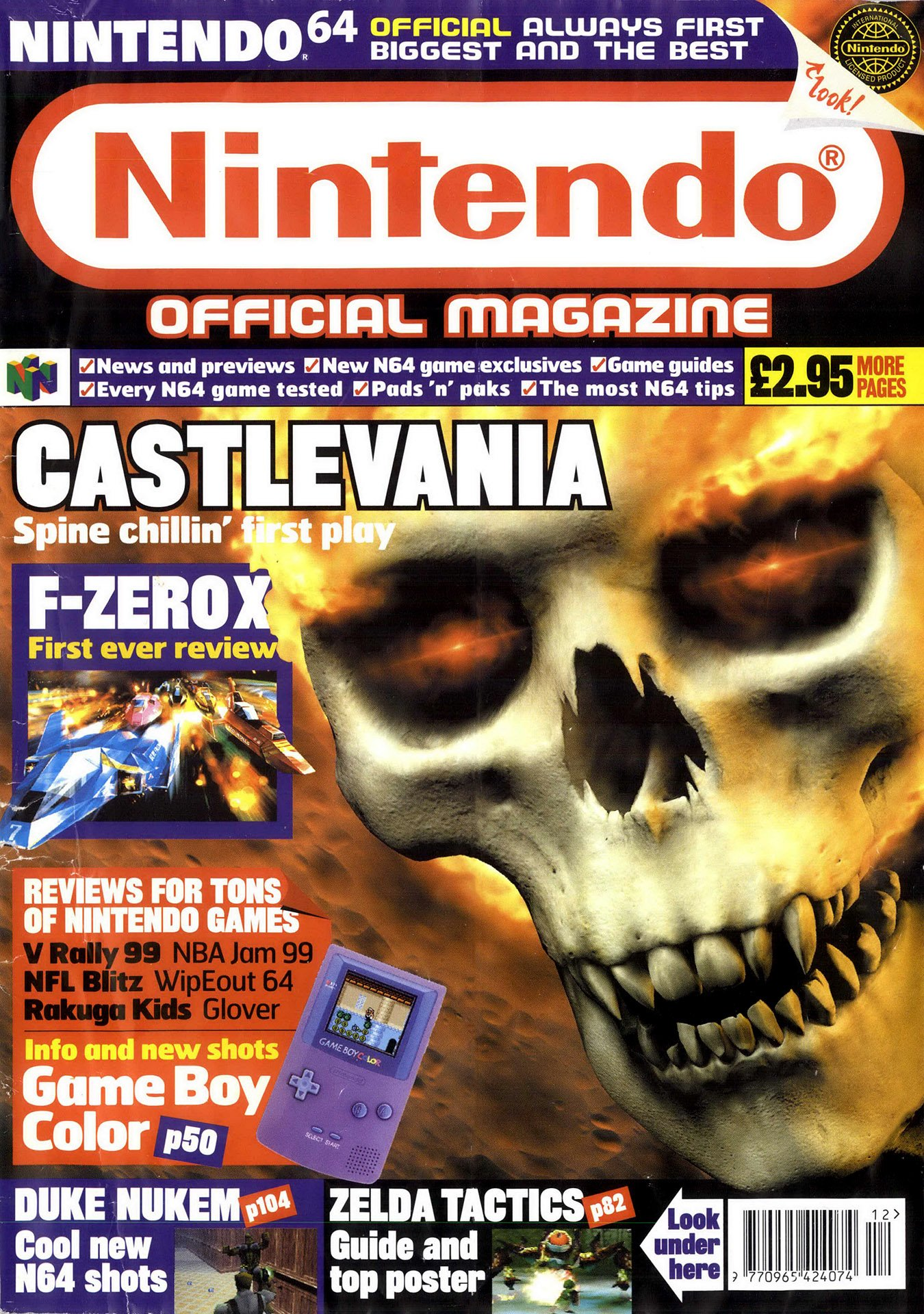 Nintendo Official Magazine 075 (December 1998)