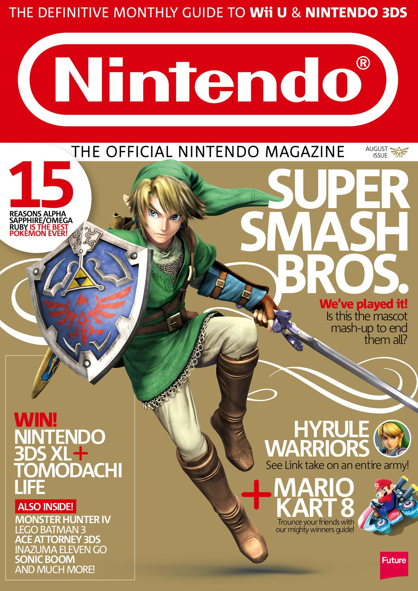 Official Nintendo Magazine 110 (August 2014)