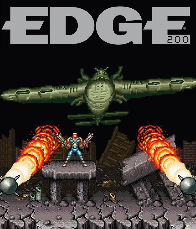 Edge 200 (April 2009) (cover 083 - Contra III -The Alien Wars)