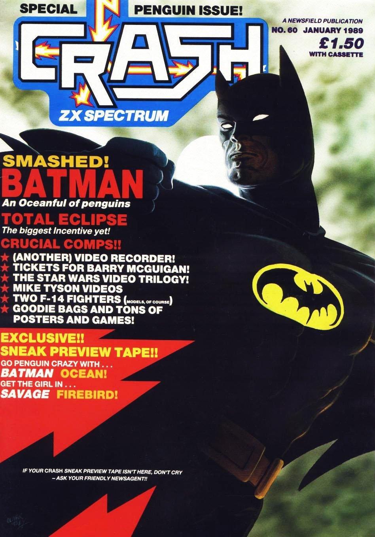 Crash Magazine Issue 60 (January 1989)