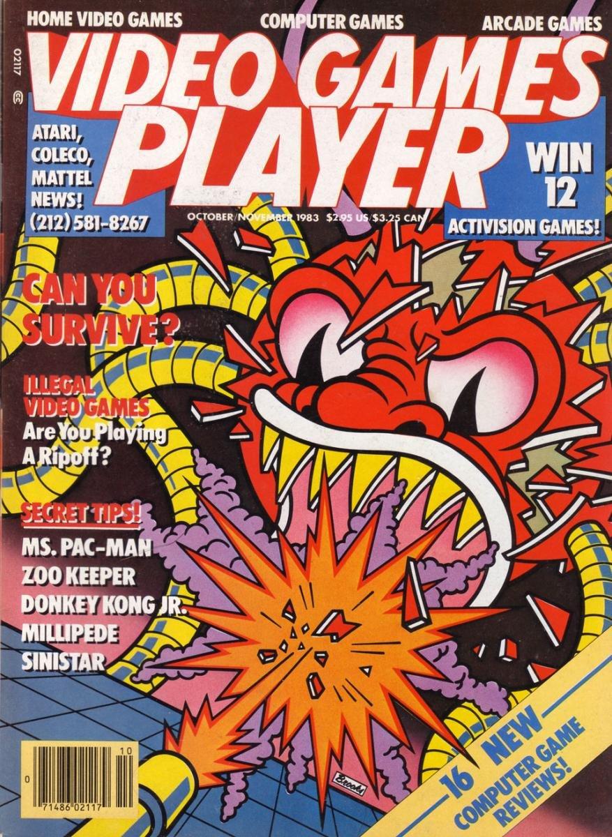 Video Games Player 3 (October / November 1983)