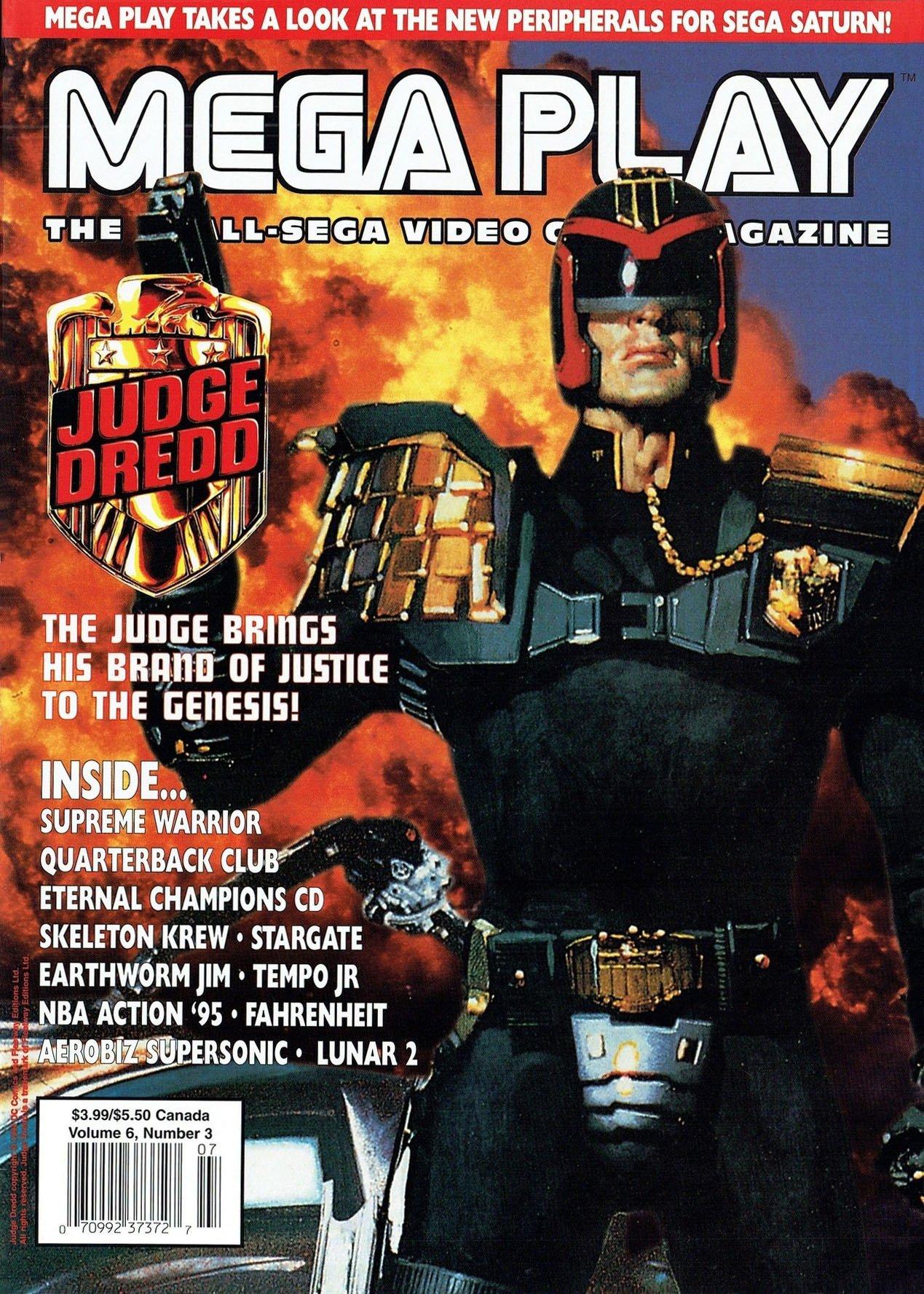 Mega Play Vol.6 No.3 June/July 1995