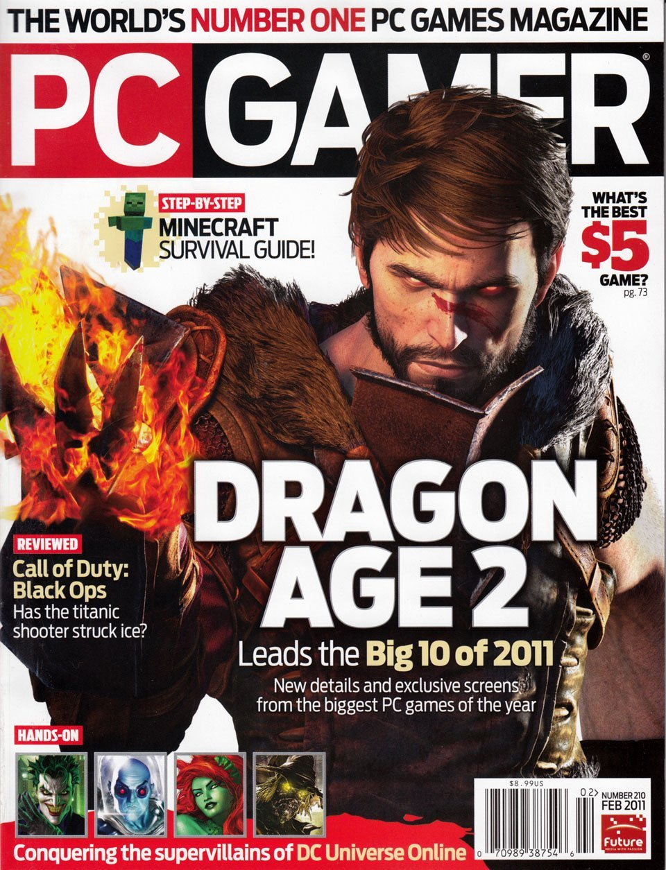PC Gamer Issue 210 (February 2011)