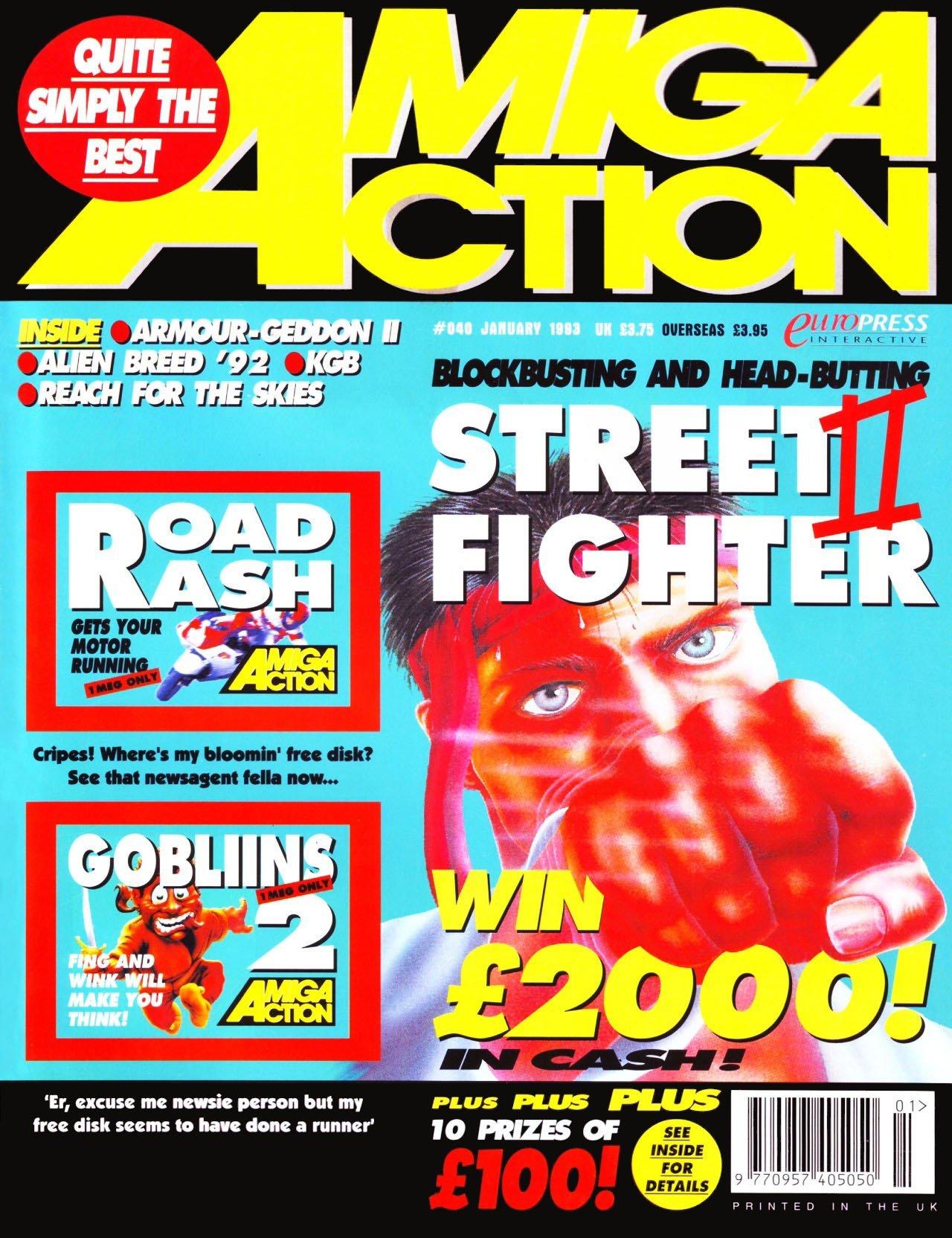 Amiga Action 040 (January 1993)