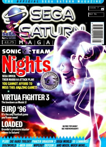 Official Sega Saturn Magazine 07 (May 1996)