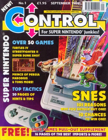 Control Issue 1 (September 1992)