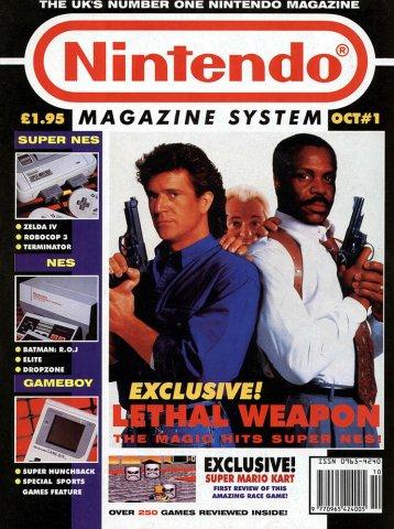 Nintendo Magazine System 001 (October 1992)