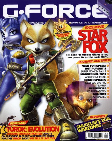 G-Force Issue 06 (October 2002)