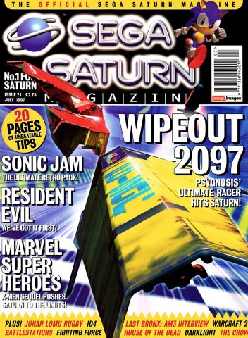 Official Sega Saturn Magazine 21 (July 1997)