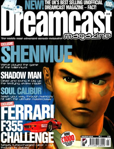 Dreamcast Magazine 03 (November 1999)
