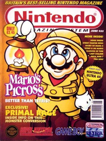 Nintendo Magazine System 033 (June 1995)
