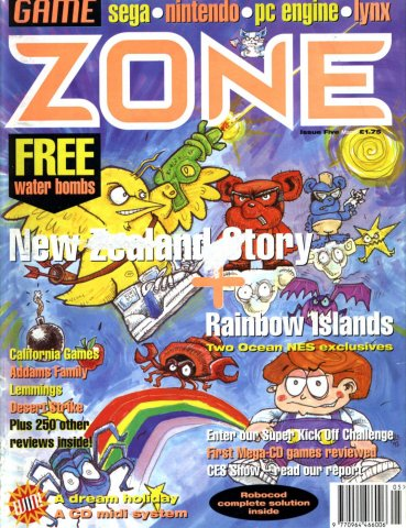 Game Zone Issue 05 (March 1992)