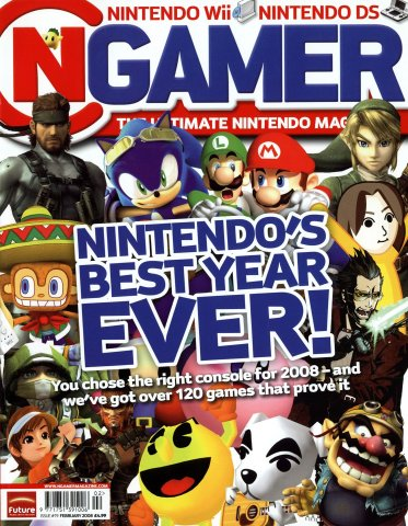 NGamer Issue 19 (February 2008)