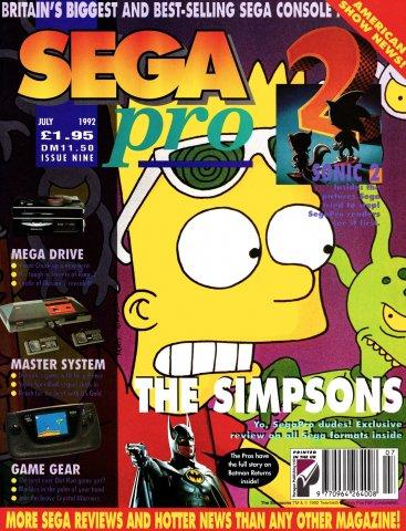 SEGA Pro 09 (July 1992)
