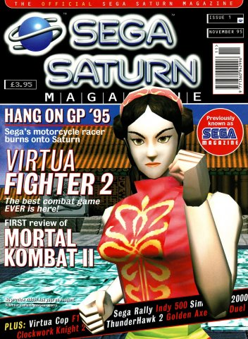 Official Sega Saturn Magazine 01 (November 1995)