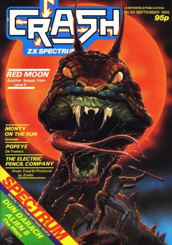 Crash Magazine 20 (September 1985)